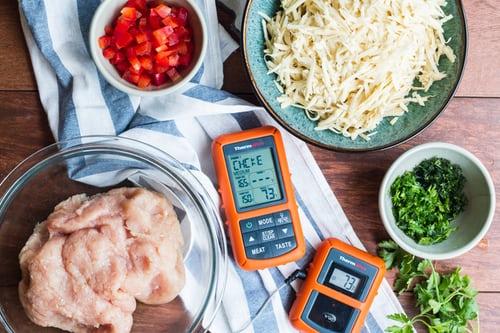 La bonne façon d'utiliser un thermomètre à viande