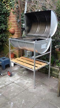 comment fabriquer un barbecue en inox. Black Bedroom Furniture Sets. Home Design Ideas