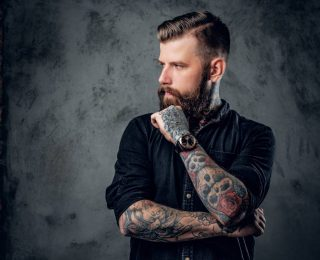 La tendance des tatouages éphémères