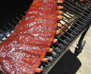 préparation de repas au barbecue numero 06
