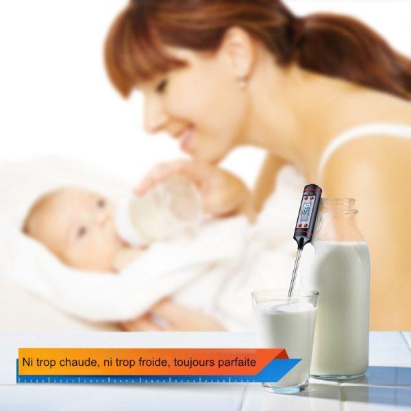 thermometre cuisson digital biberon bebe